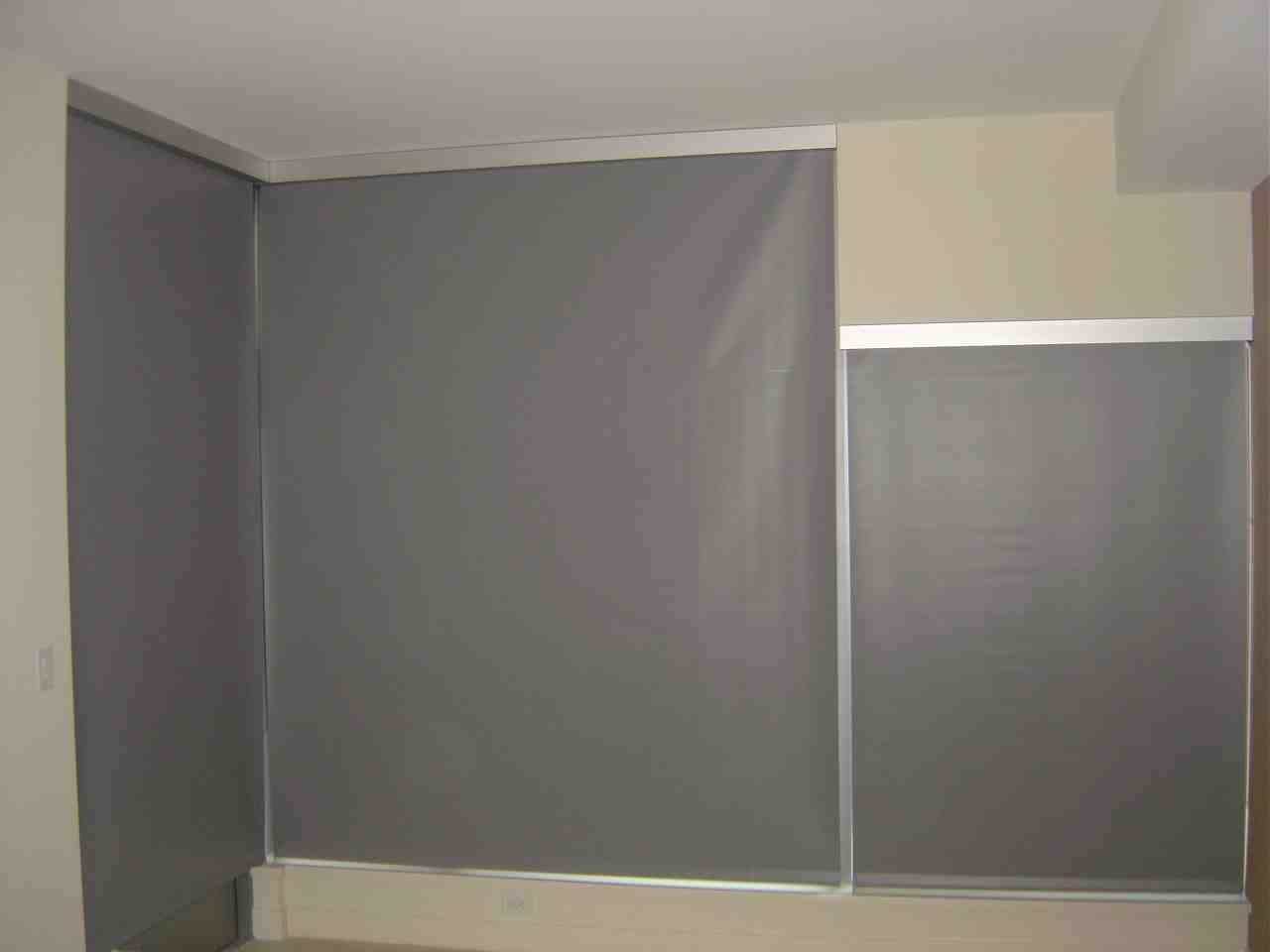 Temporary Blackout Blinds Decor Ideasdecor Ideas