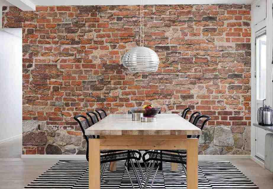 Brick Wall Decoration Ideas