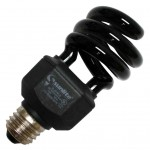 Candelabra Black Light Bulbs