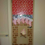 Christmas Office Door Decorating Ideas