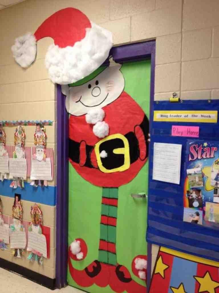 Christmas Office Door Decorations