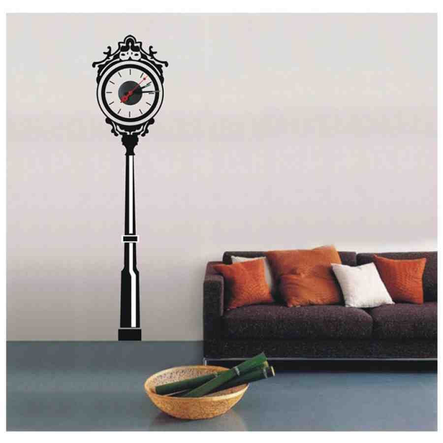Clock Decal Wall Decor