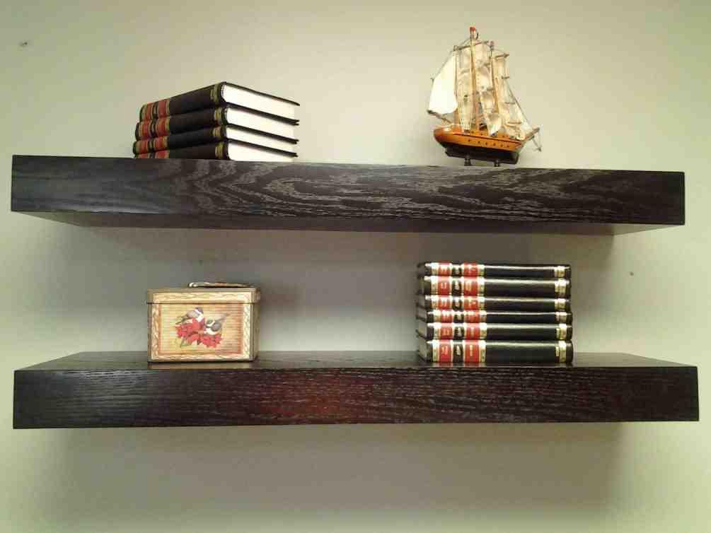 Floating Wall Shelves Wood
