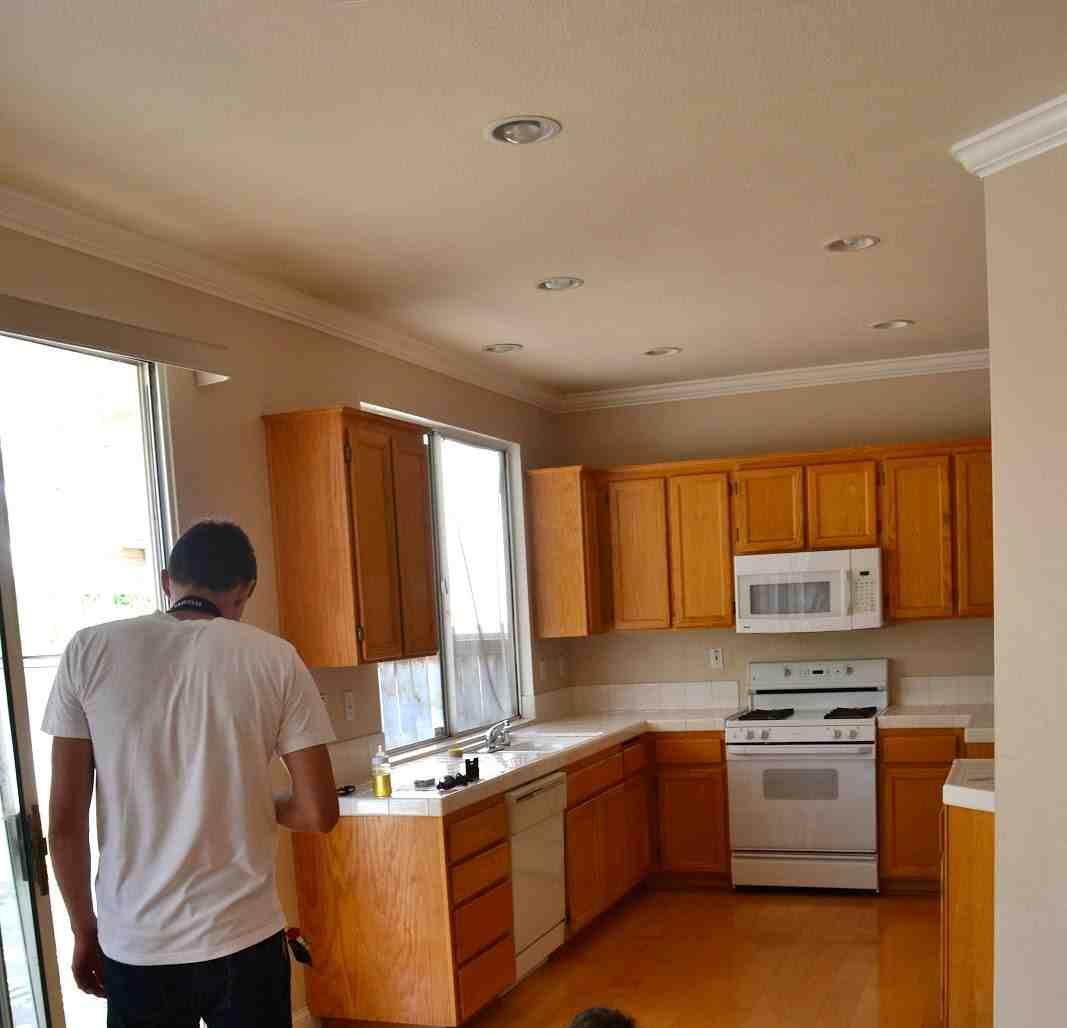Golden Oak Kitchen Cabinets: Golden Oak Kitchen Cabinets