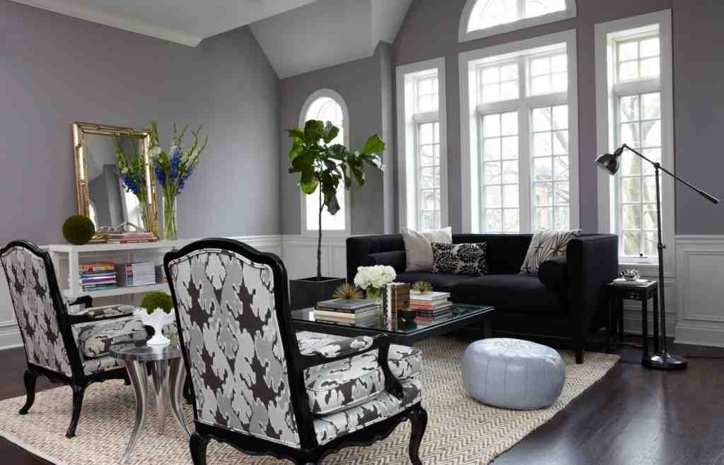 Gray Painted Living Rooms