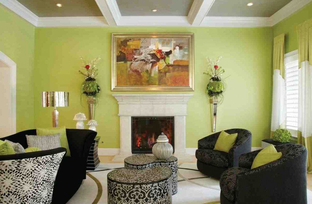 Green Paint for Living Room