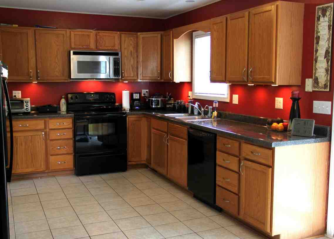 How Do I Paint My Oak Kitchen Cabinets