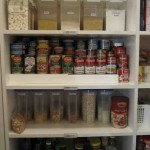 Organize Pantry Shelves