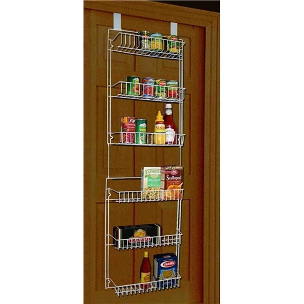 Over the Door Pantry Shelves