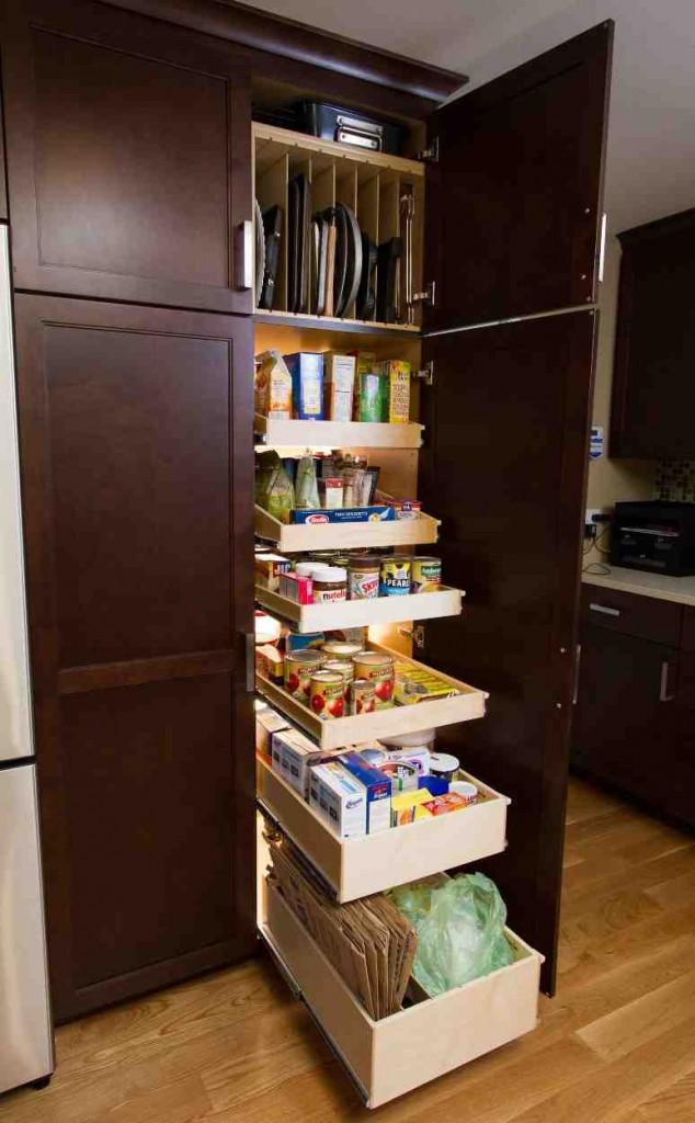 Pantry Cabinet Slide Out Shelves