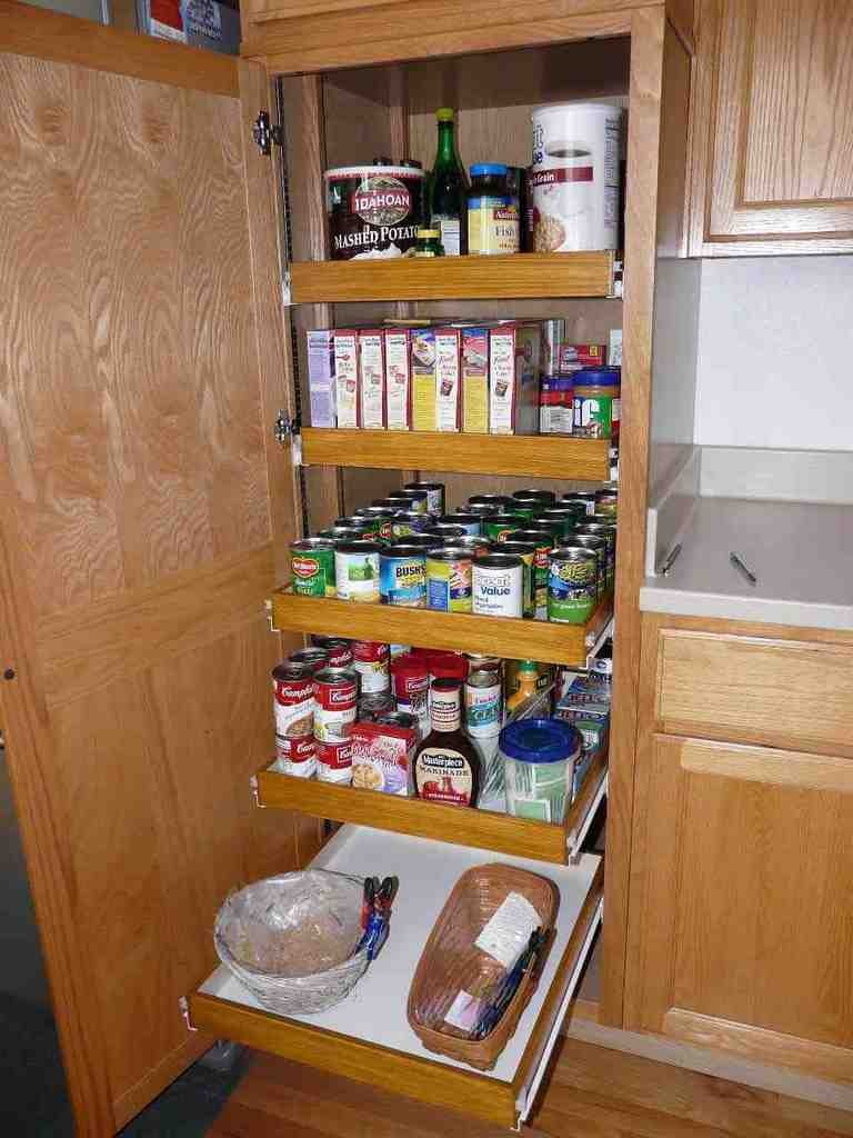 Pull Out Shelves for Pantry Cabinet