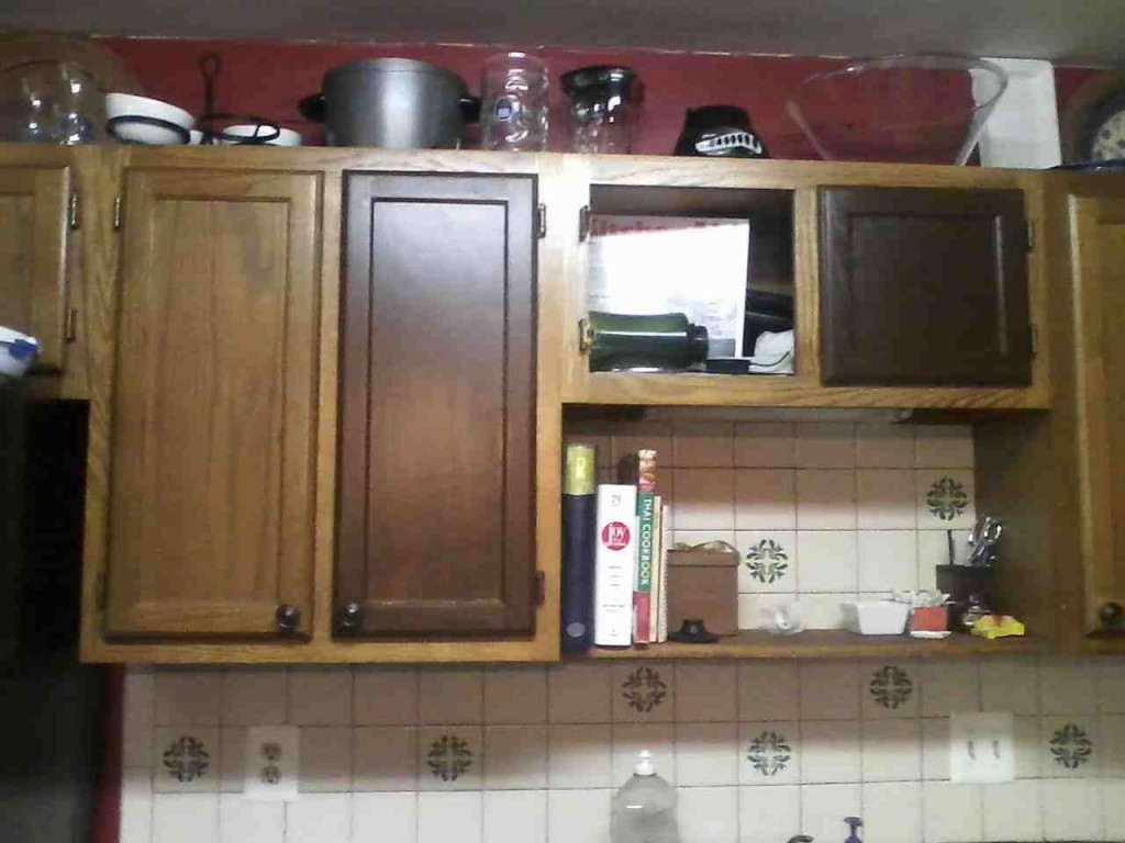 Refinish Oak Kitchen Cabinets