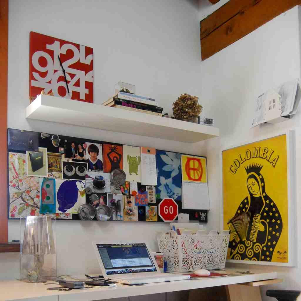 Retro Office Decor
