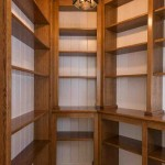 Wood Pantry Shelving