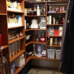 Wood Pantry Shelving Systems