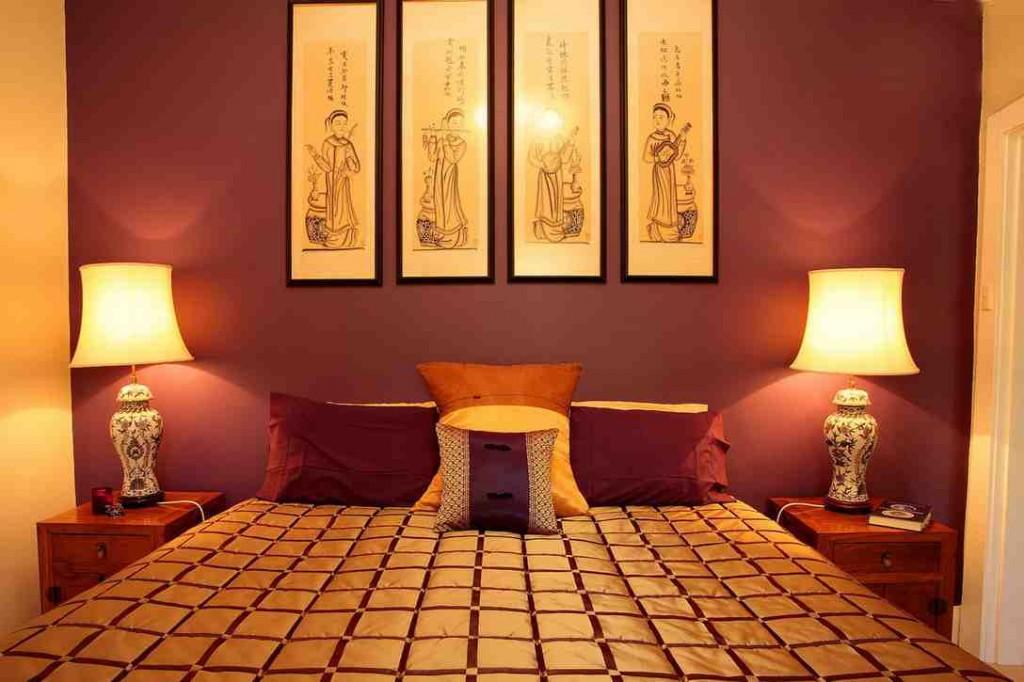 Asian Inspired Bedroom Decor