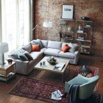 Brick Wall Living Room