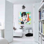 Decorating an Apartment with White Walls