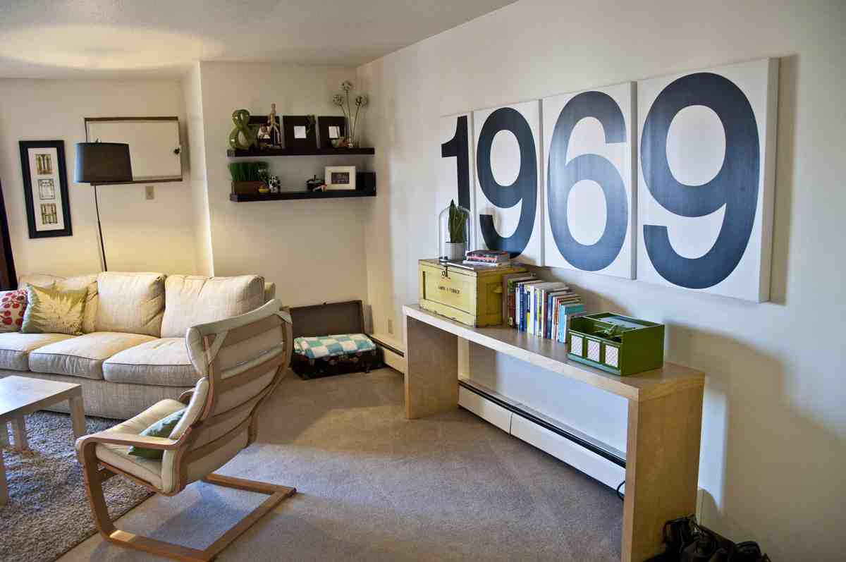 21 Easy Unexpected Living Room Decorating Ideas: First Apartment Decorating Ideas