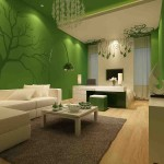 Green Living Room Walls