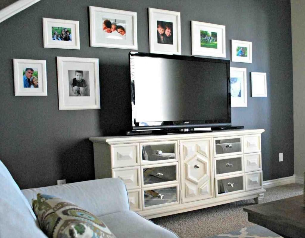 Grey Walls Living Room