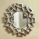 Round Starburst Mirror
