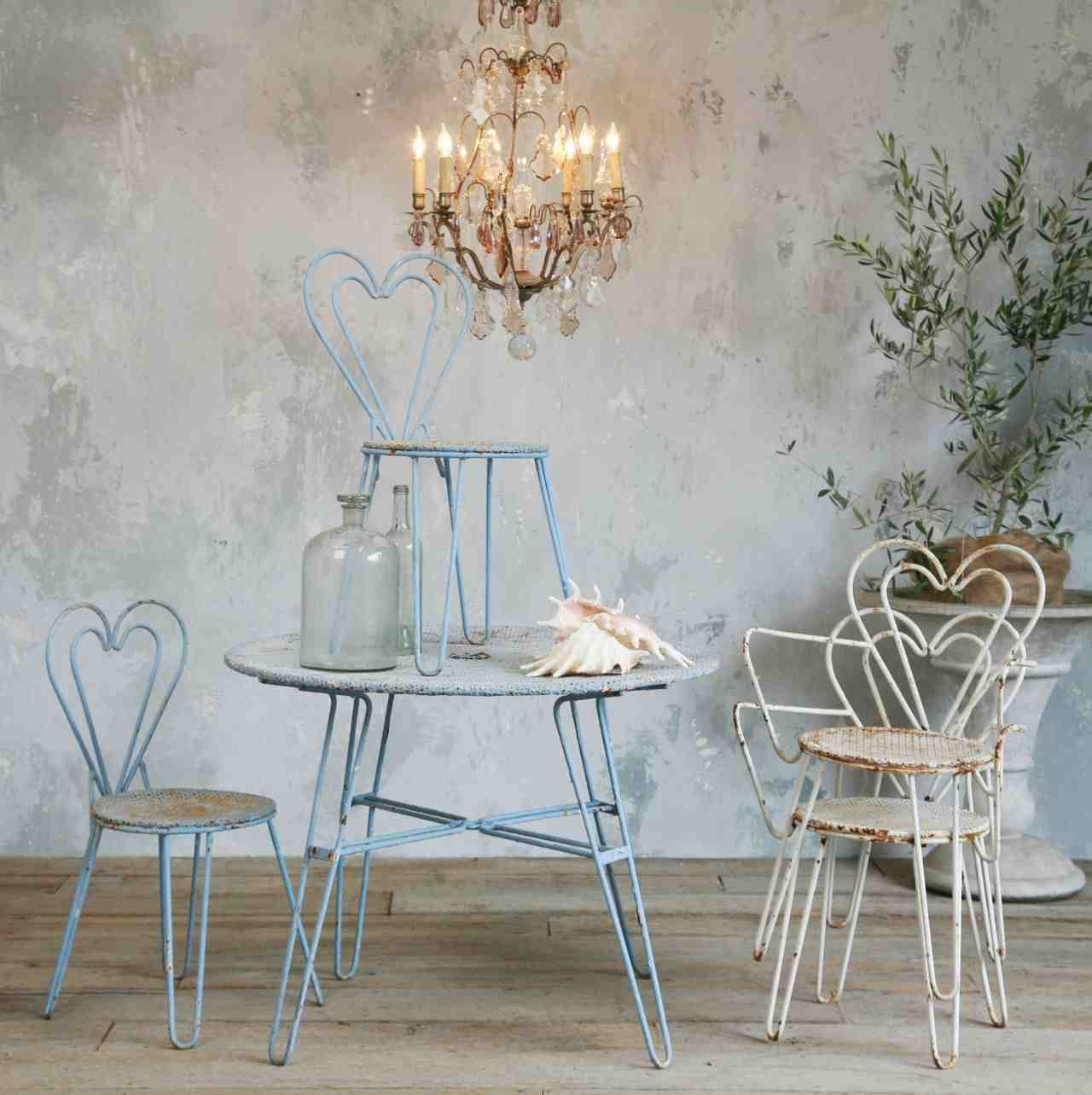 Rustic shabby chic home decor decor ideasdecor ideas for Lampe style shabby chic