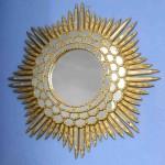 Vintage Starburst Mirror
