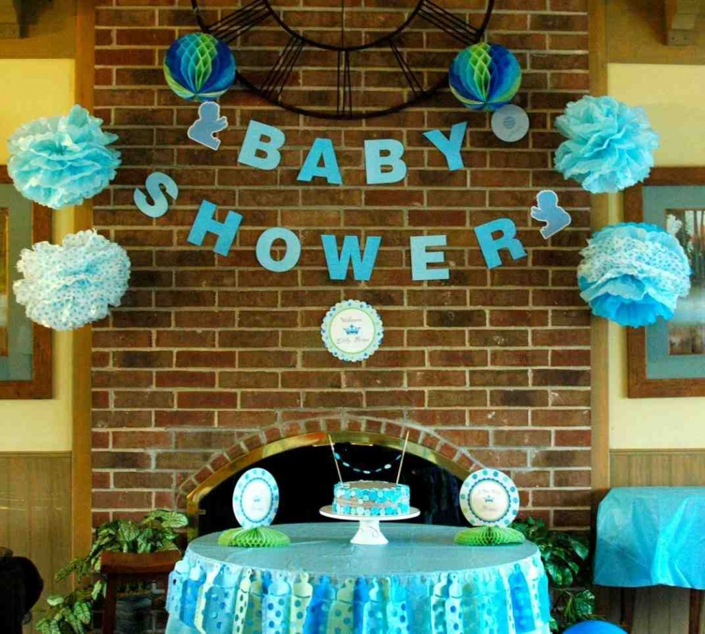 Baby Shower Room Decorations