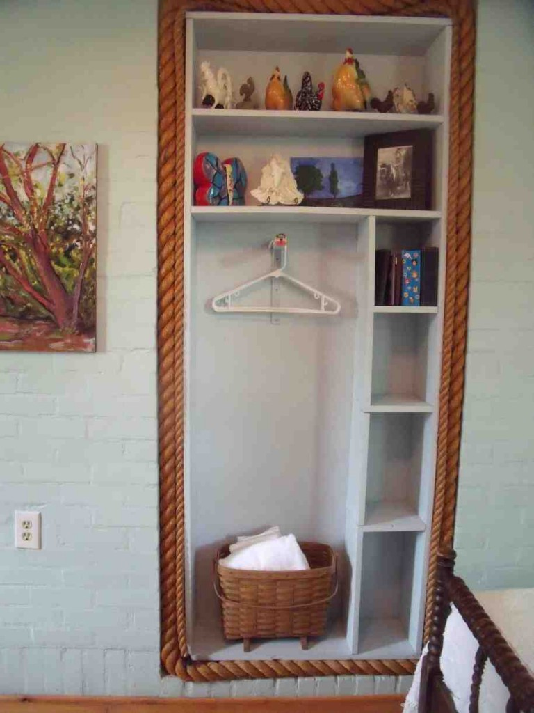 Bedroom Closet Shelves