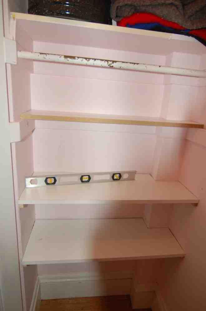 Building Closet Shelves