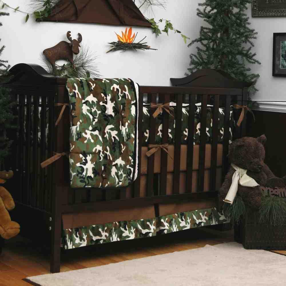 Camo Baby Room Decor