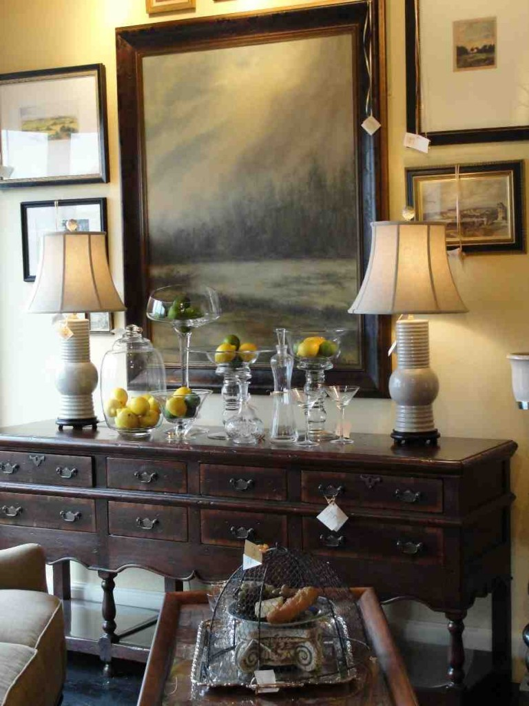 Decorating a Dining Room Buffet