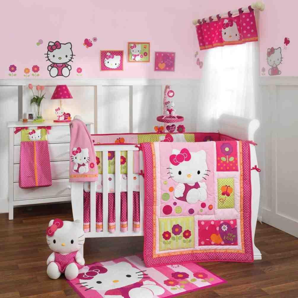 Hello Kitty Baby Room Decor
