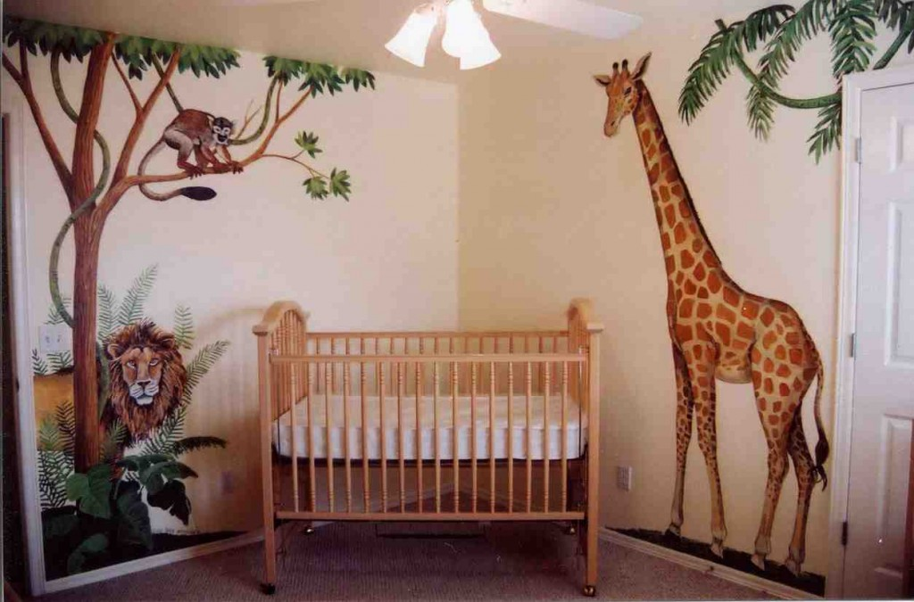 Jungle Baby Room Decor