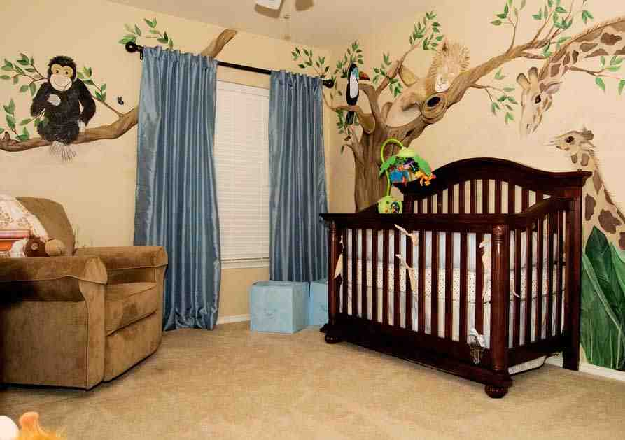 Jungle Theme Baby Room Decor