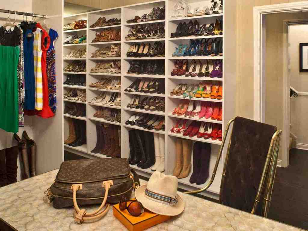 Melamine Closet Shelves Decor Ideasdecor Ideas