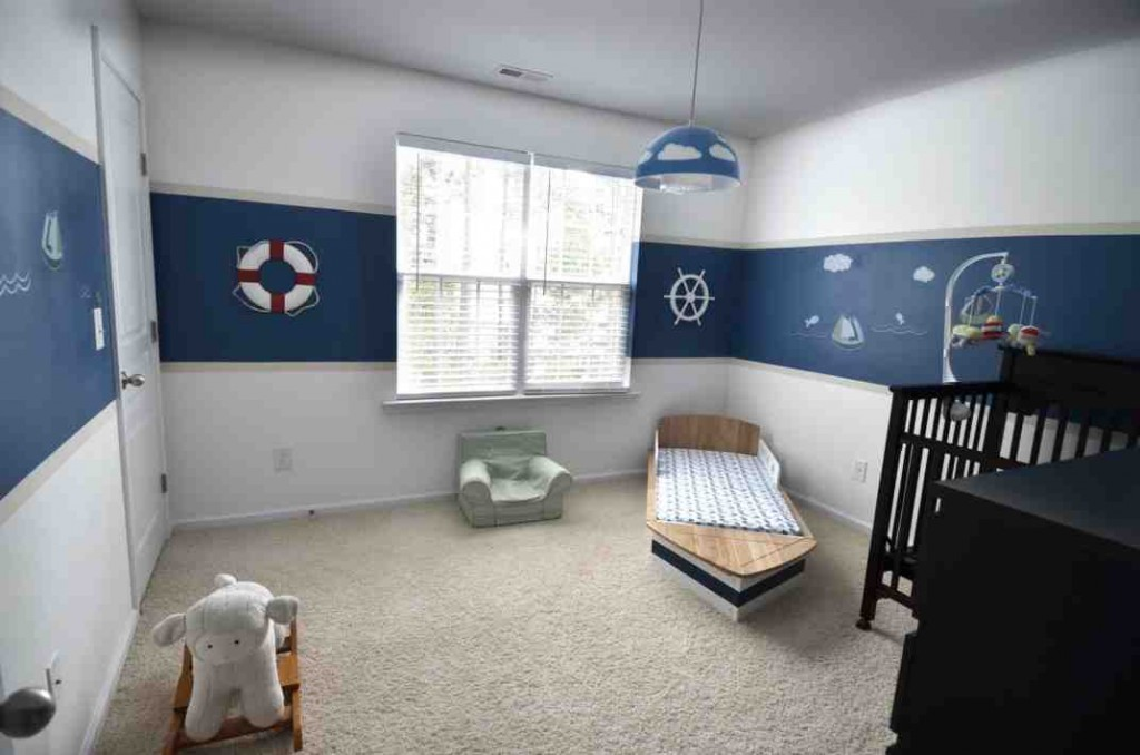 Nautical Baby Room Decorating Ideas