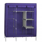 Portable Closet with Shelves