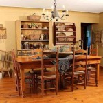 Primitive Dining Room Decor