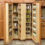 Rotating Food Storage Shelves