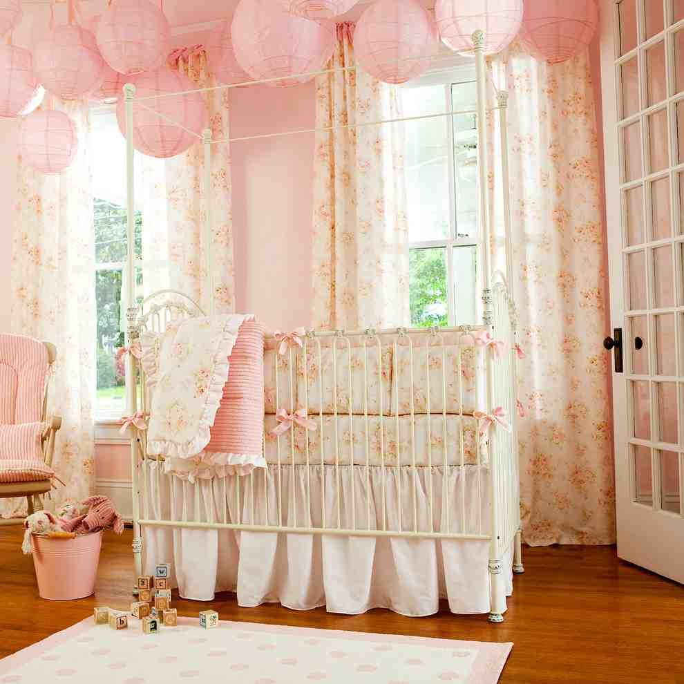 Shabby Chic Baby Room Decor
