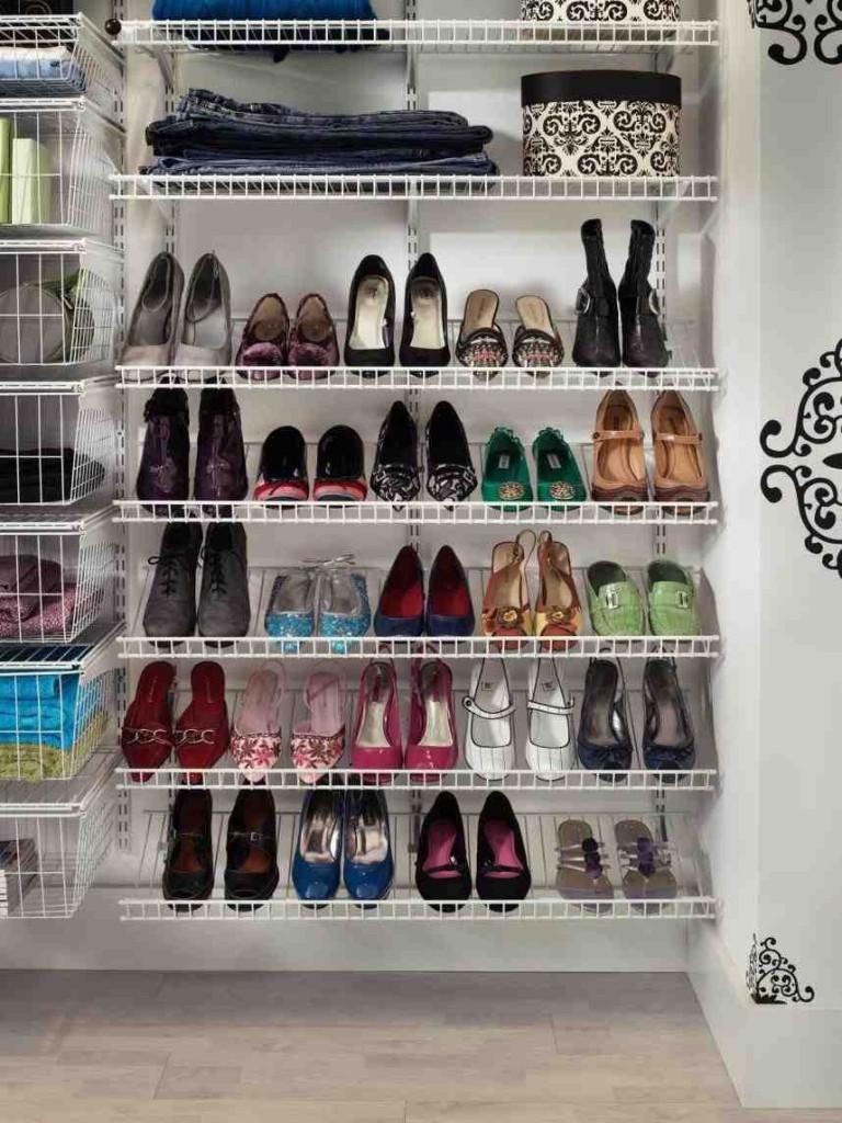 Shoe Shelving for Closets