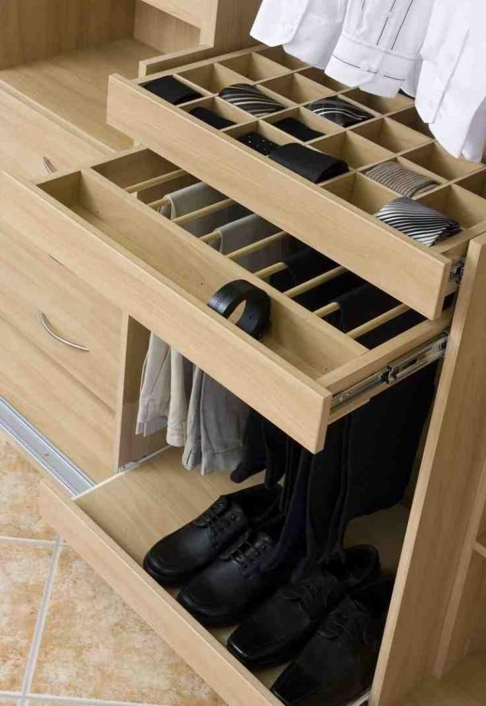 Sliding Closet Shelves