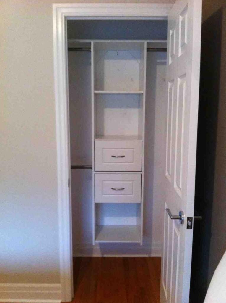 Small Closet Shelves