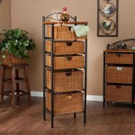 Small Storage Baskets for Shelves