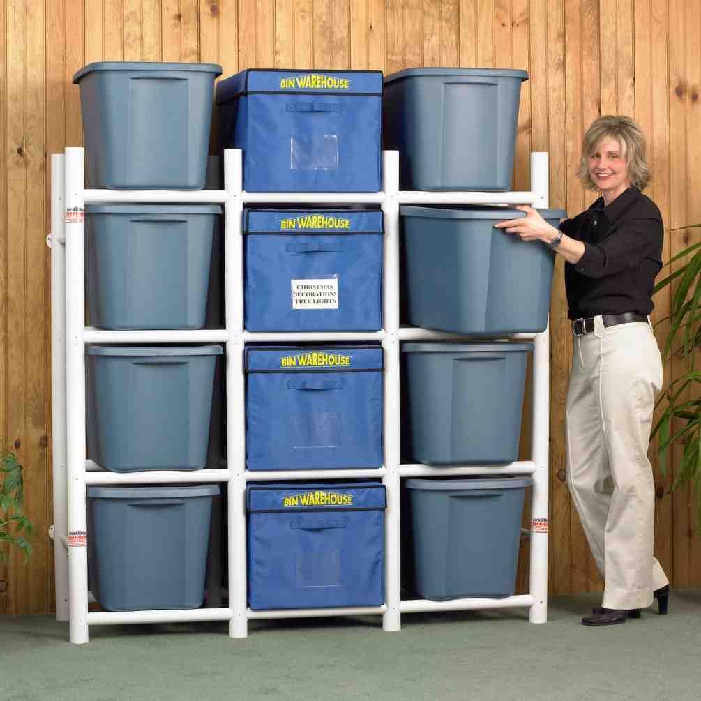 Tote Storage Shelves