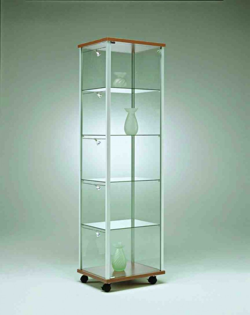 Glass Display Shelving