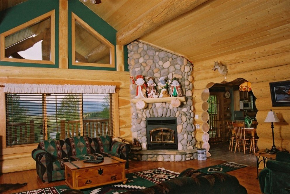 Log Cabin Wall Decor