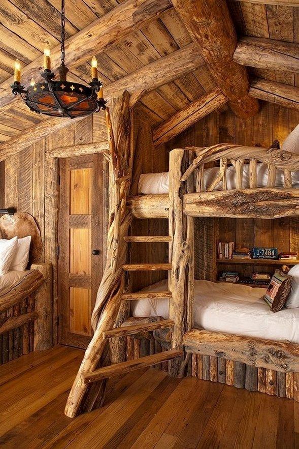 Rustic Log Cabin Decor